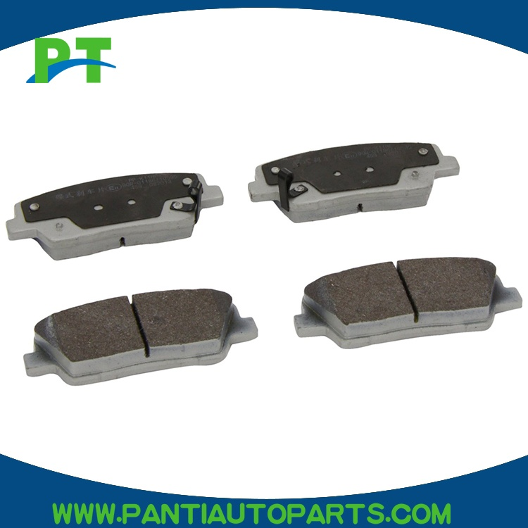 KIA OEM 15-16 K900For Brake Rear Disc Brake Pads 583023NA00