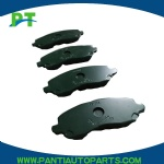 MR-510539 Semi Metallic Front Brake Pad set for MITSUBISHI MONTERO V78WEND