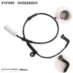 34352282935 Brake Pad Wear Sensor for  BMW 5 Series (E60) [2003-2010] 6 Series (E63E64) [2004-]
