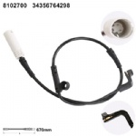 34356764298  Brake Pad Wear Sensor for  BMW 5 series (E60E61) [2003-2010]