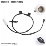 34356792572 Brake Pad Wear Sensor for BMW MINI(R56)(R59R57)[2006           MINI(R55)[2007-]  MINI (R58)[2011-]