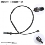 34356857154 Brake Pad Wear Sensor for BMW i3 (I01) (2013-) BMW i3 (I01) (2013-)