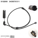 34356751311 Brake Pad Wear Sensor for BMW 3 (E46) 3 Convertible (E46) 3 Coupe (E46) 3 Touring (E46)