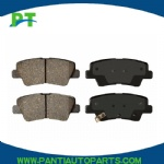 For HYUNDAI OEM 11-16 Genesis Brake-Rear Pads 583023MA30