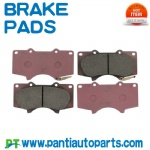 High Performance Red ceramic brake pads For Toyota 04465-35290